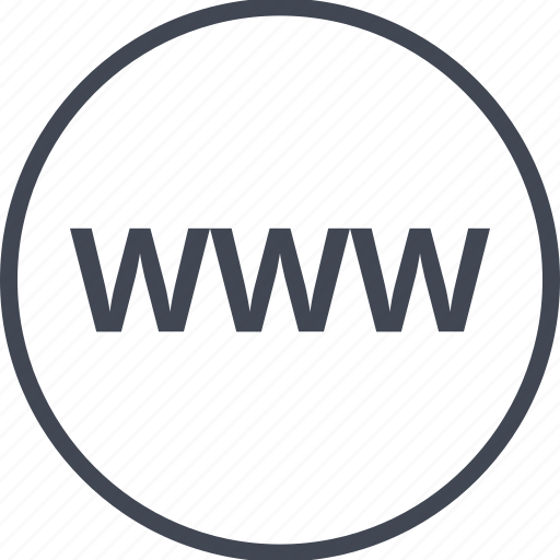 internet, online, web, website, www icon