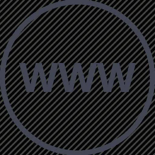 Internet, online, web, website, www icon - Download on Iconfinder