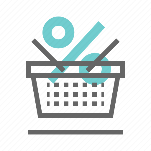 basket, buy, discount, product icon
