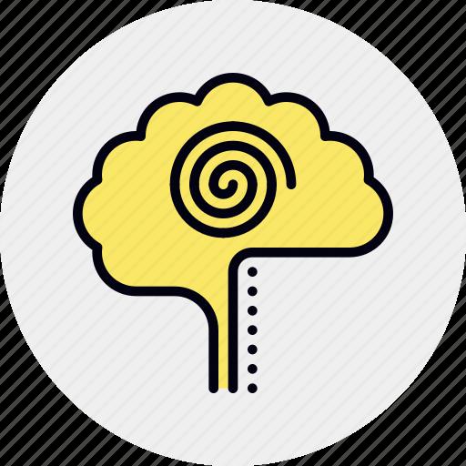 activity, brain, mental, structure icon