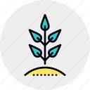 business, growth, plant, prosperity icon