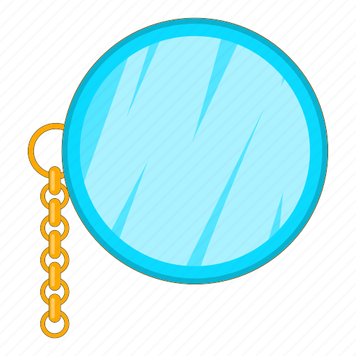 Monocle, old, chain, people, element, design, cartoon icon