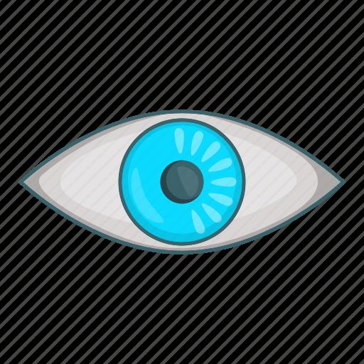 cartoon, design, eye, look, see, view, vision icon