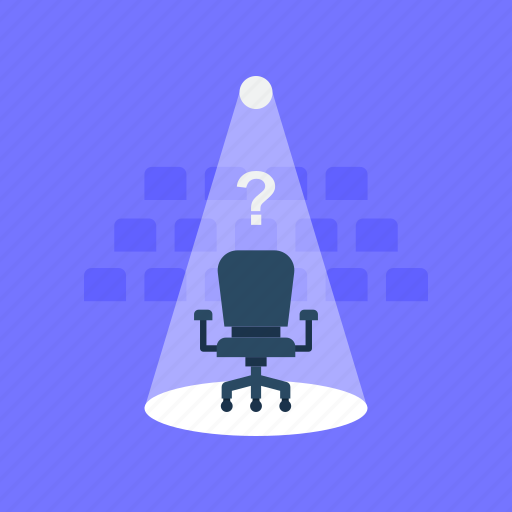 hr scrutiny, professional uncertainty, suitable candidate, talent hunt, upcoming opportunity icon