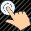 click, cursor, impression, pay, pay per click, ppc, seo icon