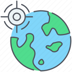 find, geo, gps, locate, location, seo, targetting icon