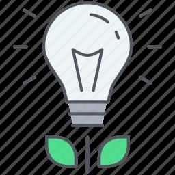 bulb, creativity, energy, idea, innovation, light, lightbulb icon