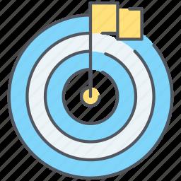 aim, bullseye, center, milestone, milestones, seo, target icon