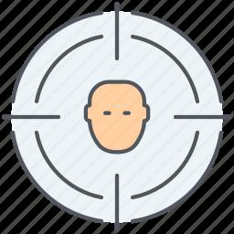 account, seo, target, target group, target user, targeting, user icon