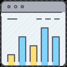 analysis, analytics, crm, diagram, ranking, report, website icon