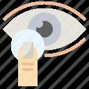 contact, eye, healthcare, lens, medical, ophthalmology, optical