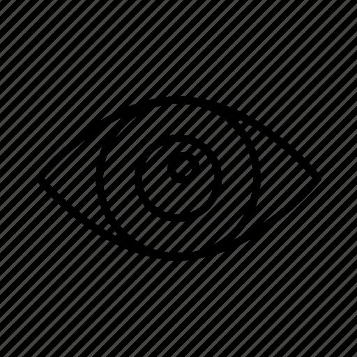 eye, eyes, health, healthcare, medical, optometrist, optometry icon