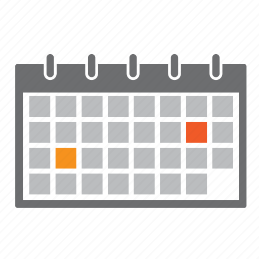 calendar, dates, months, seo, time, year icon