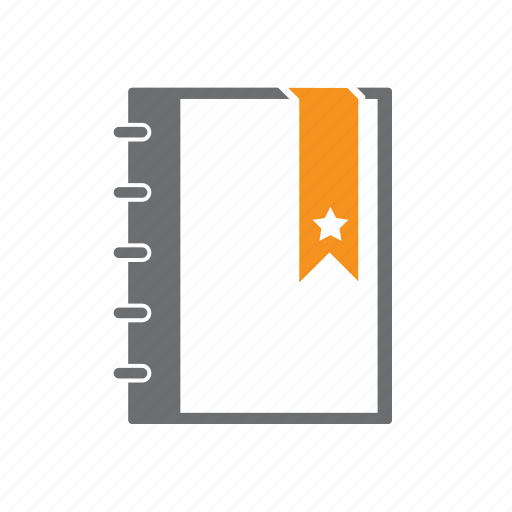 Diary, journal, planning, seo, star icon - Download on Iconfinder