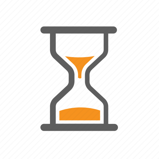 hourglass, it, sand, seo, time, timer icon
