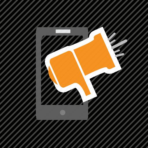 It, mega, mega-phone, phone, seo, shouting, speaking icon - Download on Iconfinder