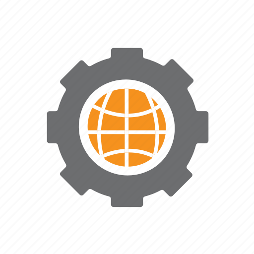 Basketball, cog, it, planet, seo, world, worldwide icon - Download on Iconfinder