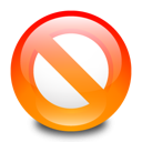 adblock, disallow, stop icon