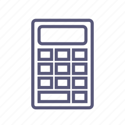 calculator, cost, count, shipping, sum, total, value icon