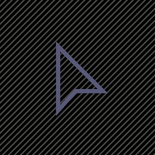 cursor, online, select, shipping icon
