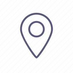 delivery point, map, mark, shipping, shop icon