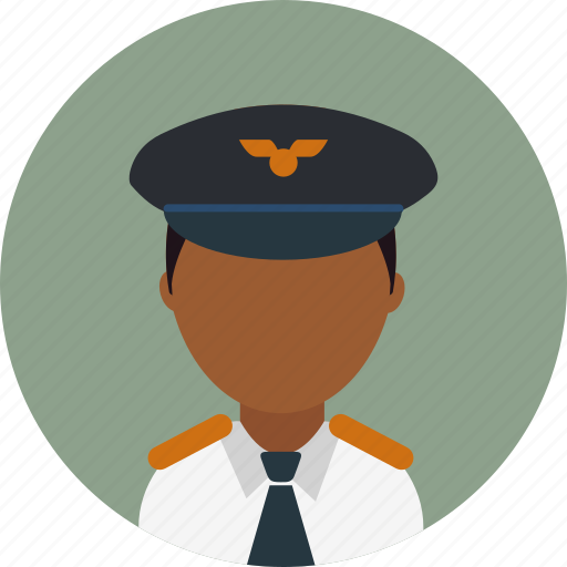 Avatar, captain, male, man, person, pilot, profile icon - Download on Iconfinder