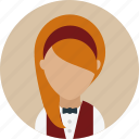 avatar, face, food, restaurant, service, waiter, woman