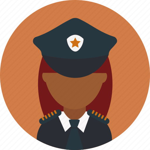 Avatar, cop, face, female, law, police, woman icon - Download on Iconfinder