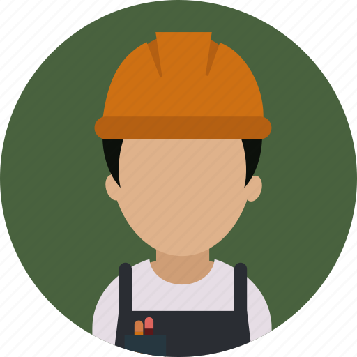 Building, construction, man, person, repair, work, worker icon - Download on Iconfinder