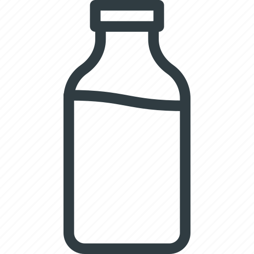 buttle, drink, milk icon