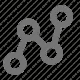 graph, organization icon