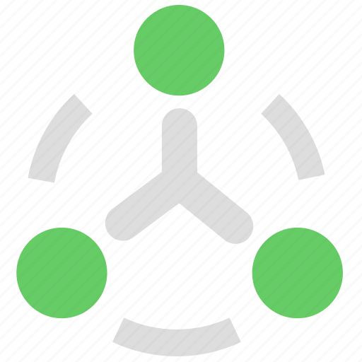 business, group, management, organization, structure, team icon