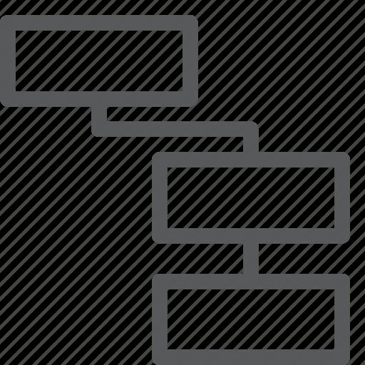 arrange, assign, business, chart, diagram, hierarchy, manage, organization icon