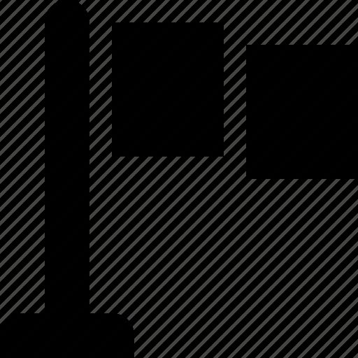 flag, marker icon