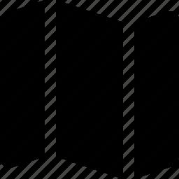 horisontal, location, map, navigation icon