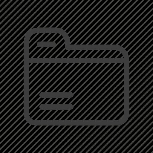 close, file, folder icon
