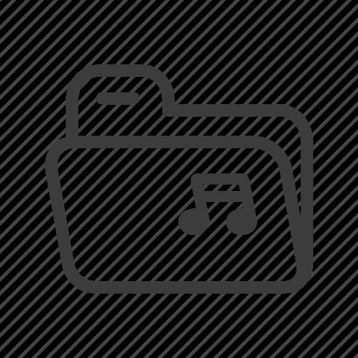 file, folder, mp3, music, sound icon