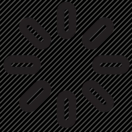arrow, loading, navigation, waiting icon