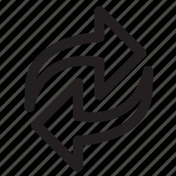 arrows, refresh, repeat icon