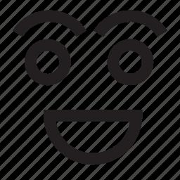 avatar, cartoon, emotion, human, person, smile, smiley icon