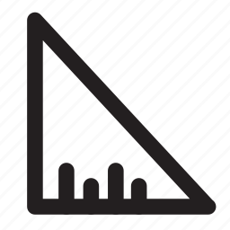 national, pennant, rectangular, triangle icon