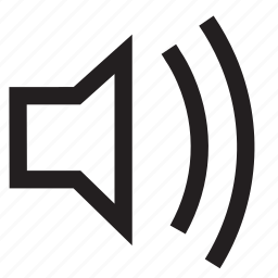 multimedia, mute, volume icon
