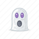 celebration, emojis, ghost, girl, holloween, spooky icon