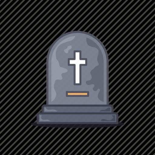 gravestone, love, ring, ruby, stone, tomb icon