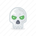 bone, face, head, human, interface, skull, user icon