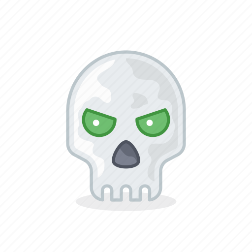 bone, face, head, human, interface, skull, user icon