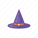 degree, graduation, hat, university, witches icon