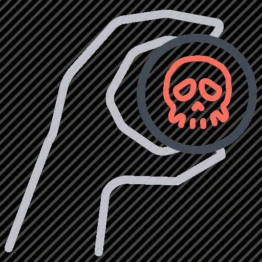 biohazard, biological, plague, super bug, virus, weapon icon