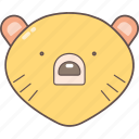 animal, bear, camping, nature, outdoor icon