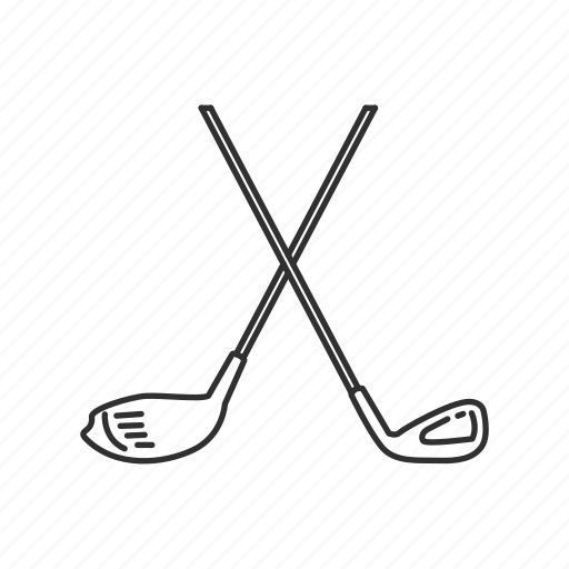 club, cross golf club, golf, golf club, outdoor, putter, sports icon
